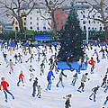 Skating  Natural History Museum by Andrew Macara