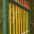Skc 3266 Colorful Gate by Sunil Kapadia