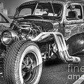 Skeleton Of A Classic Car by Darleen Stry