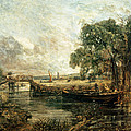 Sketch For View On The Stour by John Constable
