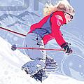 Ski 1 by Anita Hubbard