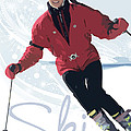 Ski 3 by Anita Hubbard
