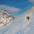 Ski Alaska Heli Ski by Gregory Allen Page