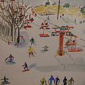 Ski Area by Rodger Ellingson
