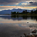 Skiddaw And Derwent Water At Dawn by Louise Heusinkveld