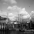 Skiffs At  Montereys Fisherman's Wharf California Circa 1945 by California Views Archives Mr Pat Hathaway Archives