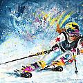 Skiing 03 by Miki De Goodaboom