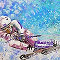 Skiing 06 by Miki De Goodaboom