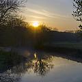 Skippack Creek Sunrise by Bill Cannon