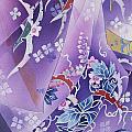 Skiyu Purple Robe Crop by Haruyo Morita