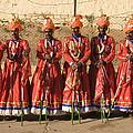 Skn 1508 Folk Dancers by Sunil Kapadia