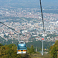 Skopje From The Cablecar by Phil Banks