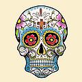 Skull 10 by Mark Ashkenazi