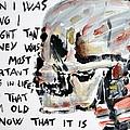 Skull Quoting Oscar Wilde.3 by Fabrizio Cassetta