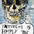Skull Quoting Oscar Wilde.4 by Fabrizio Cassetta