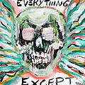 Skull Quoting Oscar Wilde.7 by Fabrizio Cassetta