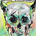 Skull Quoting Oscar Wilde.8 by Fabrizio Cassetta
