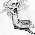 Skull Snake by Dan Twyman