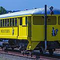 Skunk Train Passenger Car by Garry Gay