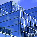 Sky Blue Mirror by Ann Horn