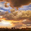 Sky Fire  by Saija  Lehtonen