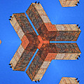 Sky Fortress Progression 4 by Dominic Piperata
