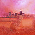 Sky Over Riber Castle by Mandy-Jayne Ahlfors