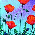 Sky Poppies by John  Nolan