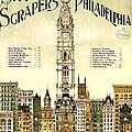 Sky Scrapers Of Philadelphia 1896 by Bill Cannon