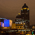 Skyline At The Milwaukee River by Susan McMenamin