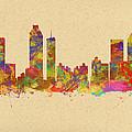skyline of Atlanta Georgia by Chris Smith