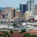 Skyline Of Birmingham by Bill Cobb