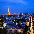 Skyline Of Paris by Michal Bednarek