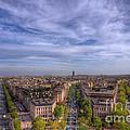 Skyline Of Paris by Sevan Mardirossian