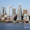 Skyline Of Seattle by Bill Cobb
