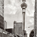 Sky Tower's Queen St Couple.nz by Jennie Breeze