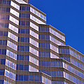 Skyscraper Photography - Downtown - By Sharon Cummings by Sharon Cummings
