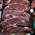 Slabs Of Raw Meat - 5d20691 by Wingsdomain Art and Photography