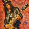 Slash Shredding On Guitar by Dan Sproul