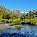 Slate River View by Kelly Black