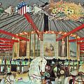 Slater Park Carousel Rounding Board by Barbara McDevitt