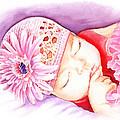 Sleeping Baby by Irina Sztukowski