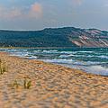 Sleeping Bear Dunes At Sunset by Sebastian Musial