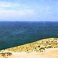 Sleeping Bear Dunes Panorama by Michelle Calkins