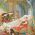 Sleeping Beauty And Prince Charming by Frederic Lix
