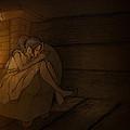 Sleeping By The Fireside by Gareth Bennett
