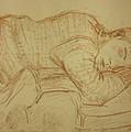 Sleeping Figure by Jeffrey Oleniacz