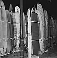 Sleeping Surfboards by Daniel Hagerman
