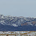 Sleeping Ute Mountain by Meandering Photography