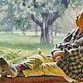 Sleeping Woman by George Atsametakis
